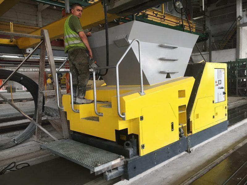 TDM Экструдер для производства пустотных плит перекрытий