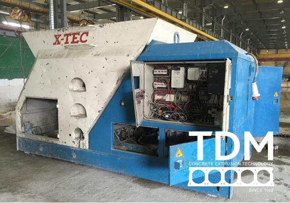 TDM remont extruder 2