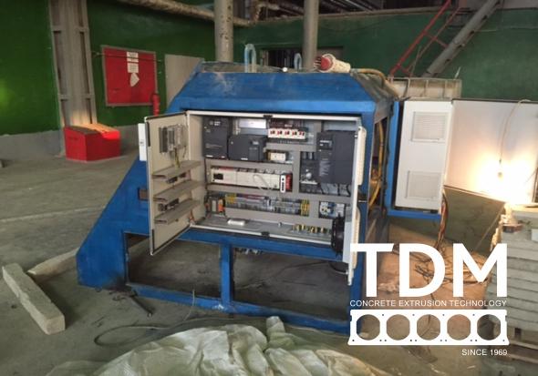 TDM remont extruder 4