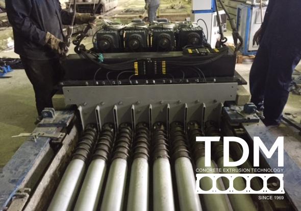 TDM remont extruder 5
