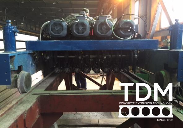 TDM remont extruder 6