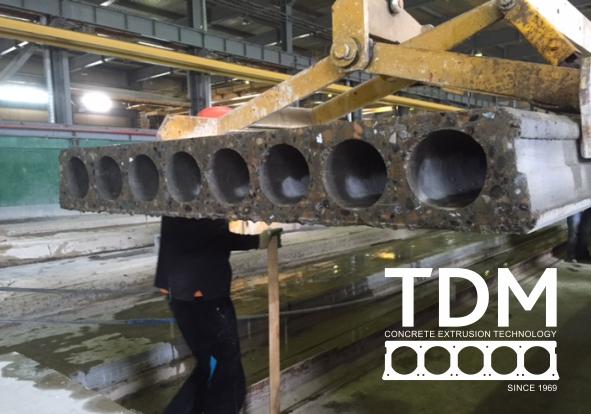 TDM remont extruder 7
