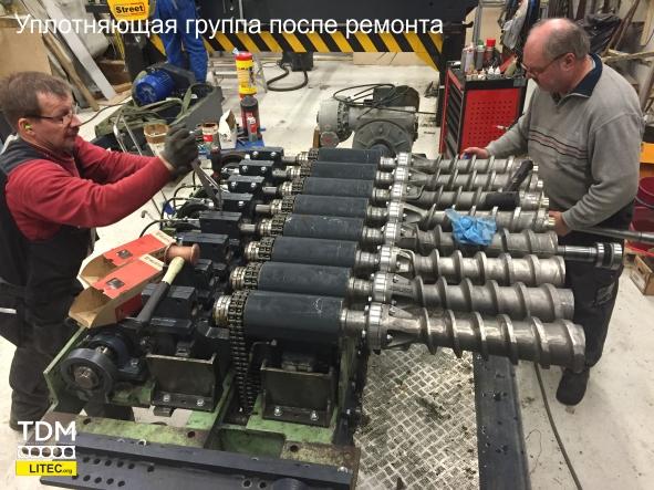 модернизация оборудования для производства пустотных плит перекрытий