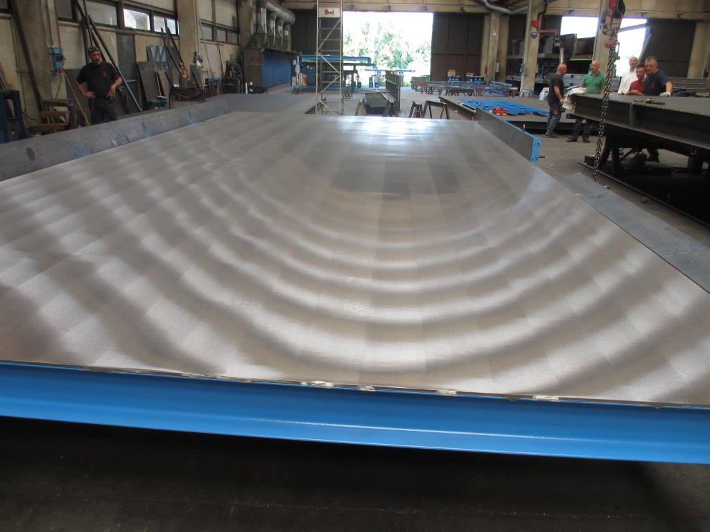 Поворотные столы: шлифованная поверхность