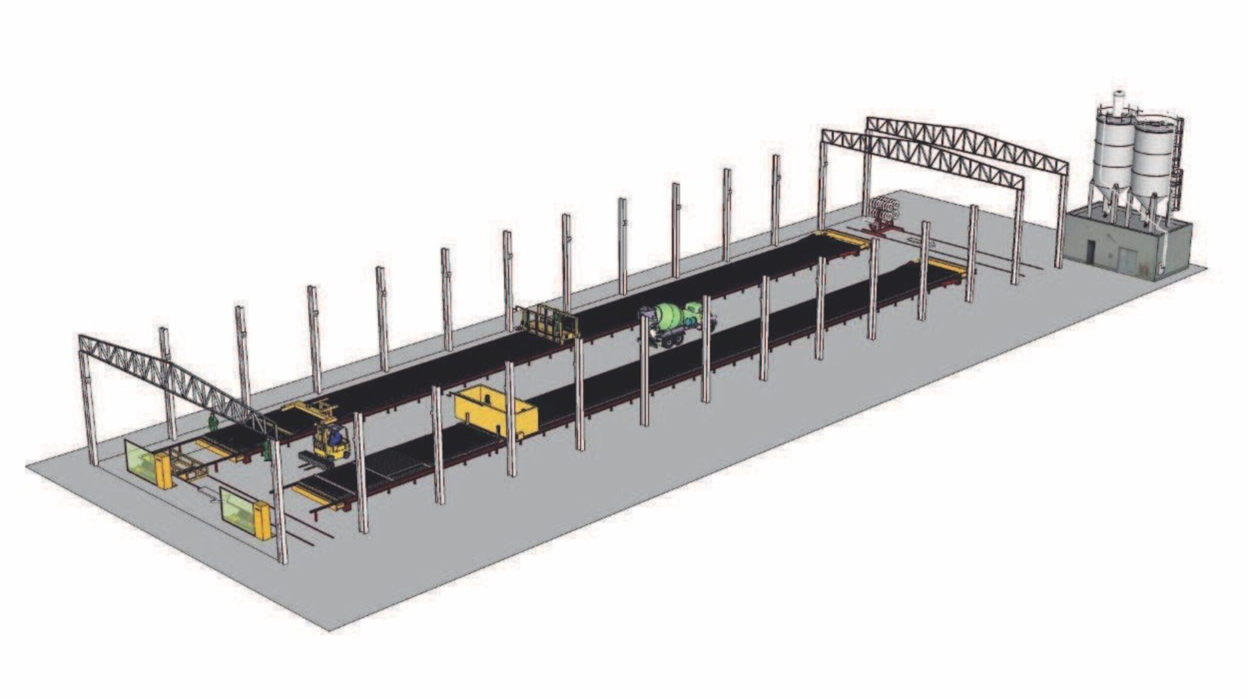 Начальное производство бетонные преднапряженные столбики для винограда