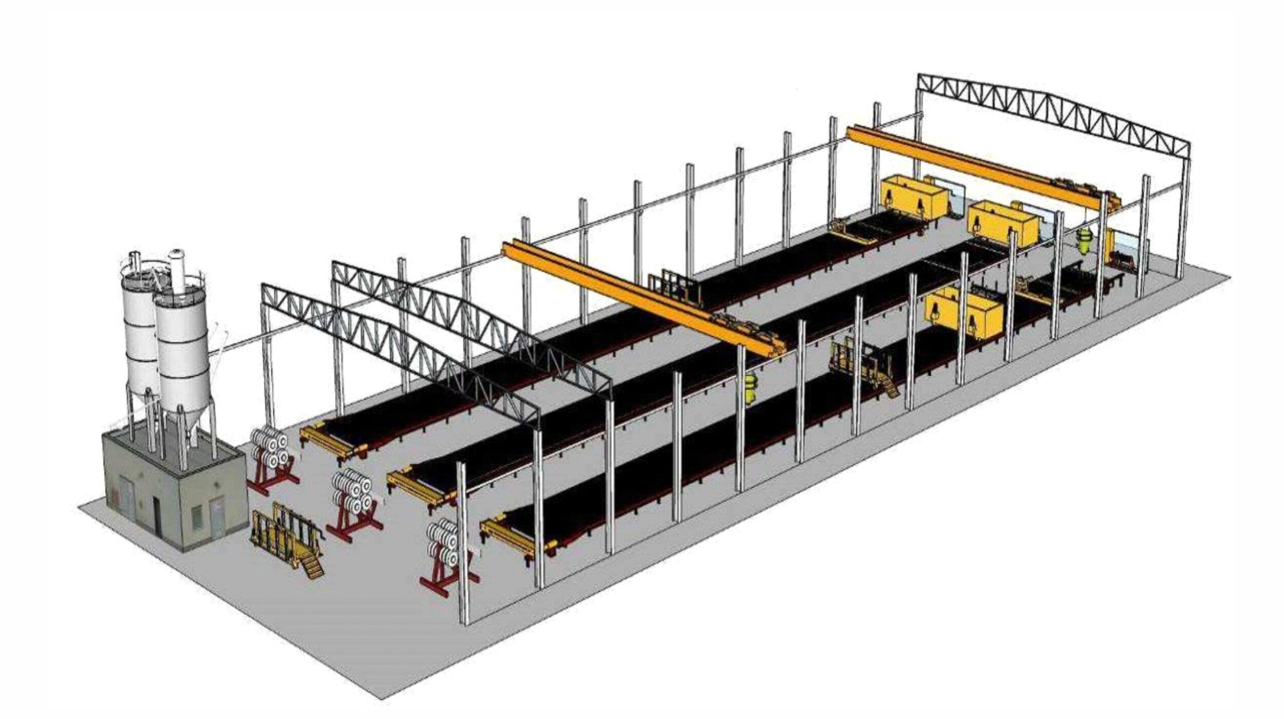 Продвинутое производство бетонные преднапряженные столбики для винограда