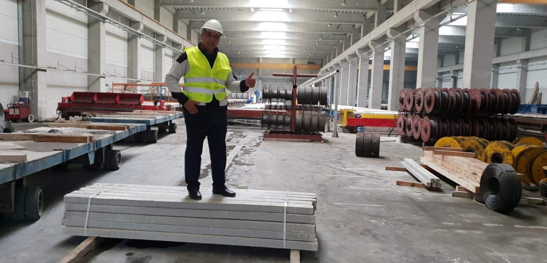 бетонные преднапряженные столбики для винограда