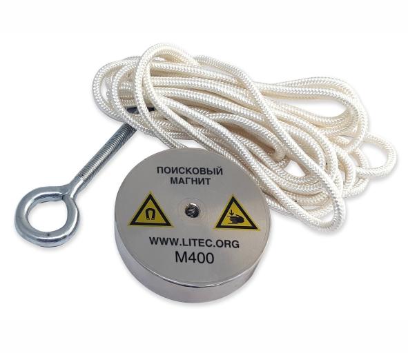 Поисковый магнит односторонний для поиска металла М400