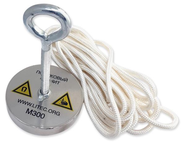 Поисковый магнит односторонний для поиска металла, М300