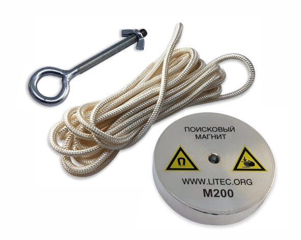 Поисковый магнит М200 односторонний