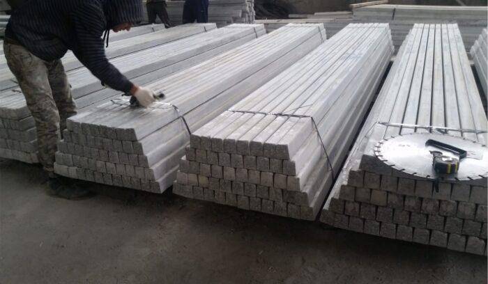 Преднапряженные бетонные столбы