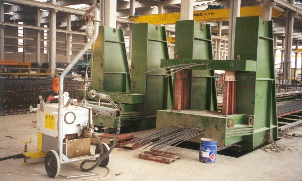 Оборудование для производства преднапряженных ЖБИ