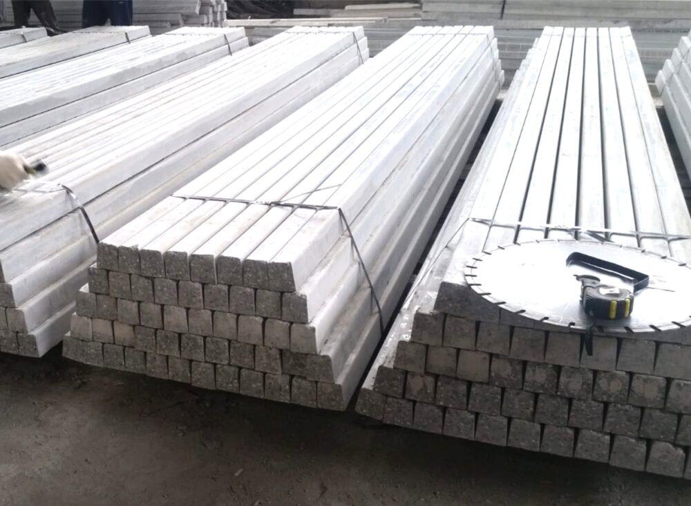 Производство преднапряженных бетонных столбов