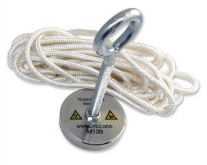 Меры предосторожности в работе с поисковым магнитом
