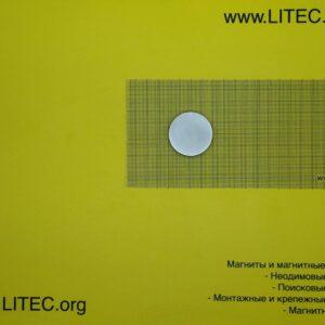 Неодімовий магніт шайба N38 D40*h8 мм