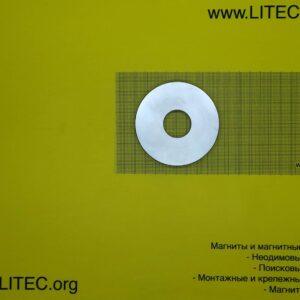 Неодімовий магніт кільце N38 D80*d25.5*h10 мм