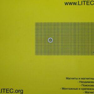 Неодімовий магніт кільце з потаєм N38 D15*d4,5-8,5*h3 мм