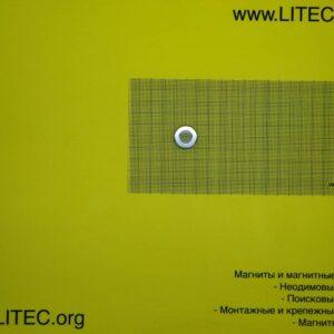 Неодимовый магнит кольцо с потаем N38 D20*d5,5-10,4*h5 мм
