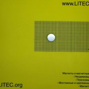 Неодимовый магнит шайба N38 D25*h10 мм