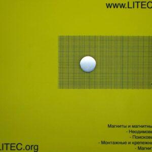 Неодімовий магніт шайба N38 D30*h10 мм