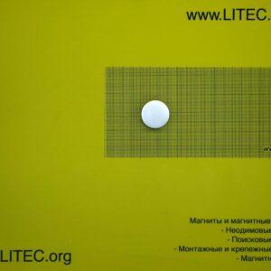 Неодімовий магніт шайба N38 D30*h20 мм