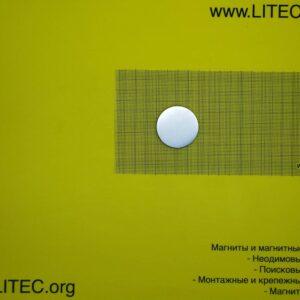 Неодімовий магніт шайба N38 D40*h5 мм