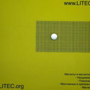 Неодімовий магніт шайба N38 D20*h10 мм