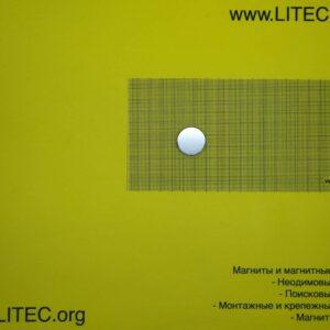 Неодімовий магніт шайба N38 D25*h5 мм