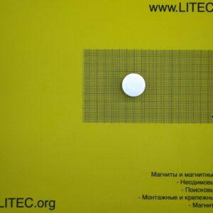 Неодимовый магнит шайба N38 D30*h30 мм