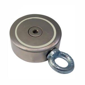 Поисковый магнит двусторонний 2М120 D67*М10*h26 мм