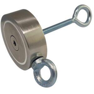 Пошуковий магніт двосторонній 2М600 D115*М10*h35 мм