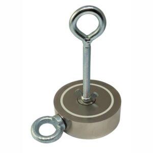 Поисковый магнит двусторонний 2М400 D105*М10*h35 мм