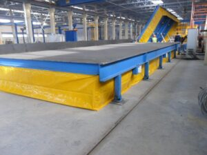 Поворотные столы для производства железобетонных изделий